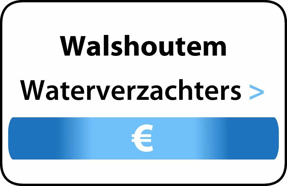 Waterverzachter in de buurt van Walshoutem