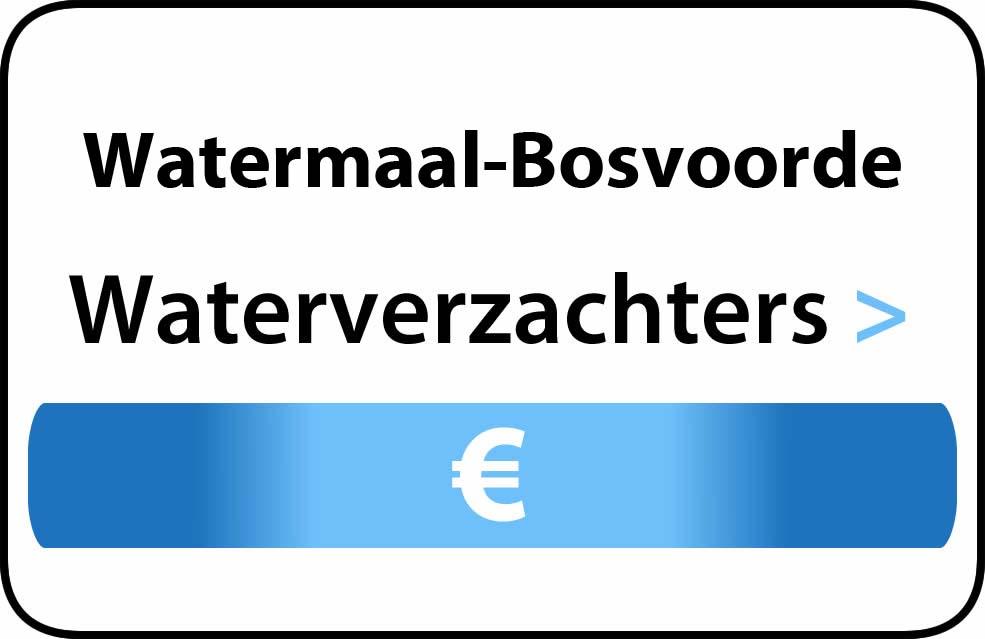Waterverzachter in de buurt van Watermaal-Bosvoorde