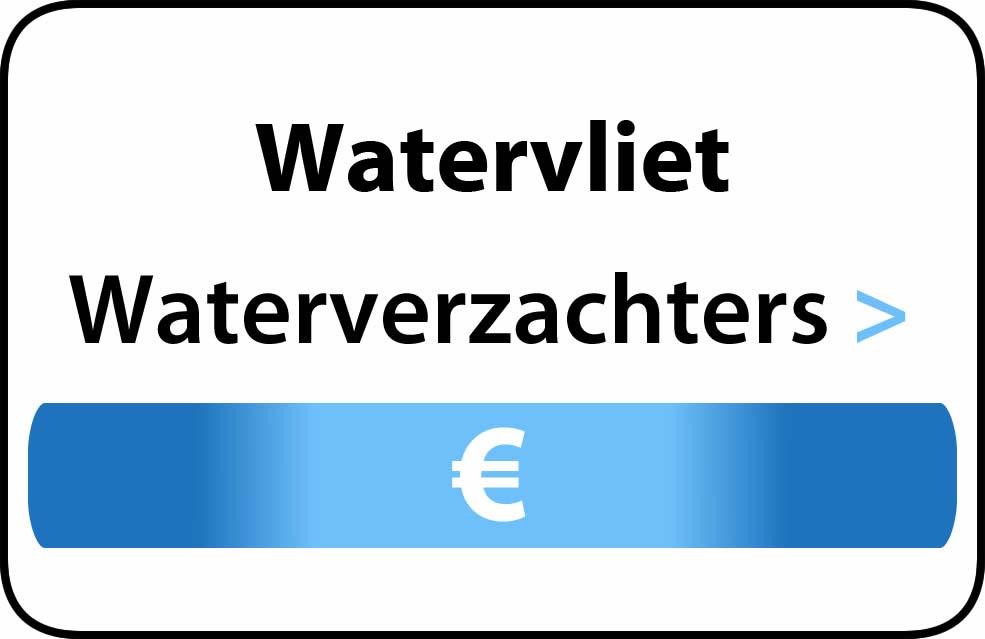 Waterverzachter in de buurt van Watervliet