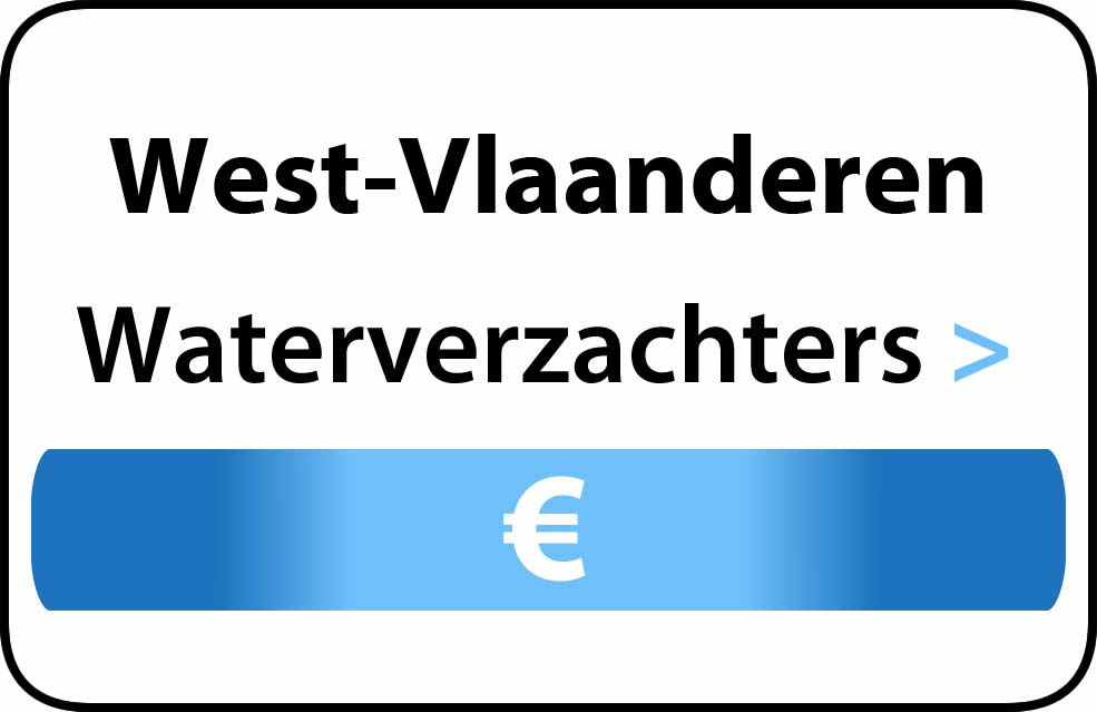 Waterverzachter in West-Vlaanderen