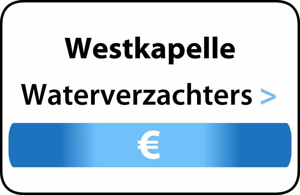Waterverzachter in de buurt van Westkapelle