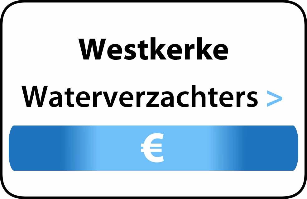 Waterverzachter in de buurt van Westkerke