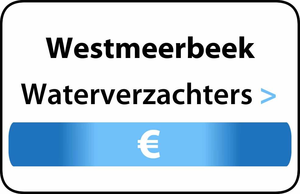 Waterverzachter in de buurt van Westmeerbeek