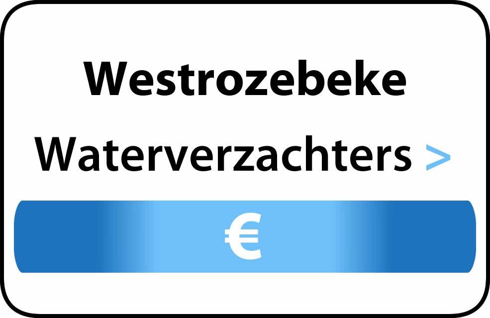 Waterverzachter in de buurt van Westrozebeke