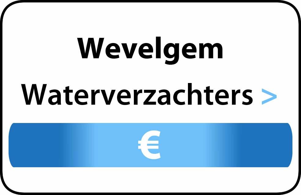 Waterverzachter in de buurt van Wevelgem