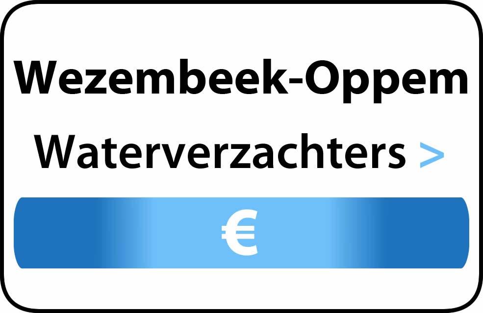 Waterverzachter in de buurt van Wezembeek-Oppem