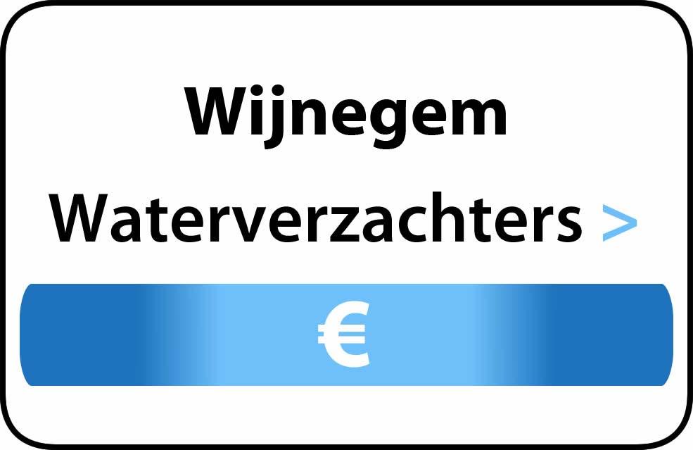 Waterverzachter in de buurt van Wijnegem