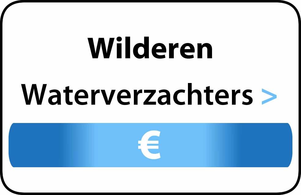 Waterverzachter in de buurt van Wilderen