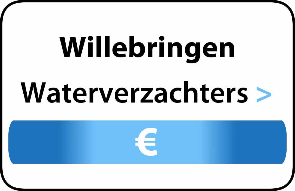 Waterverzachter in de buurt van Willebringen