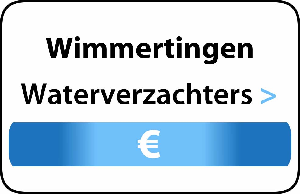 Waterverzachter in de buurt van Wimmertingen