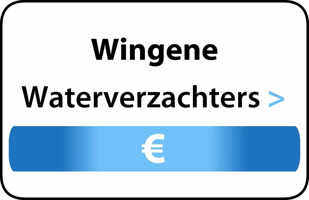 Waterverzachter in de buurt van Wingene