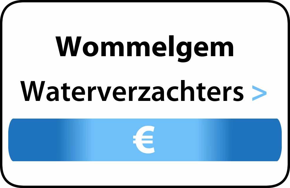Waterverzachter in de buurt van Wommelgem