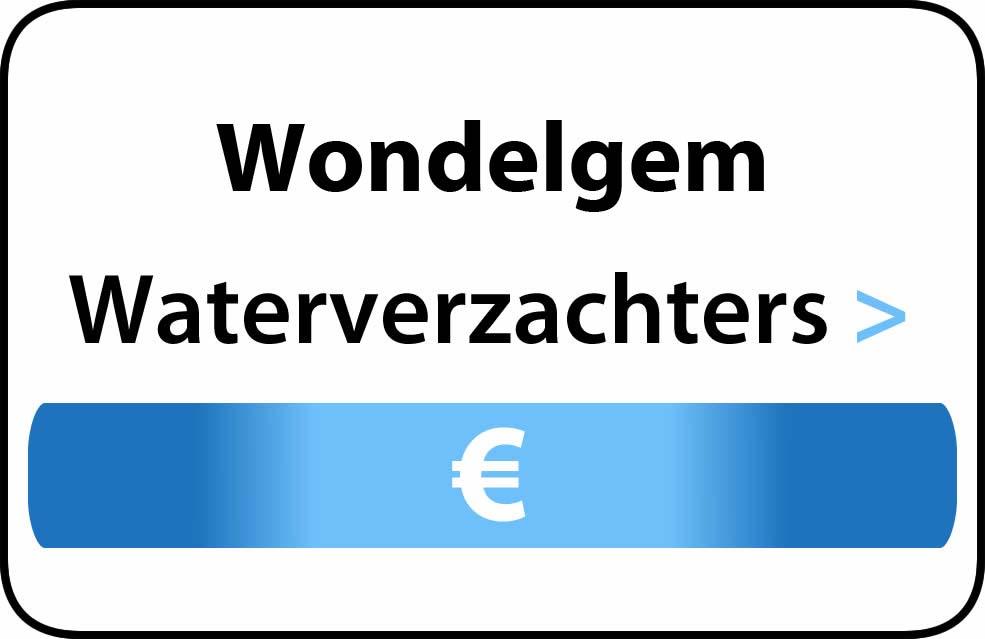 Waterverzachter in de buurt van Wondelgem