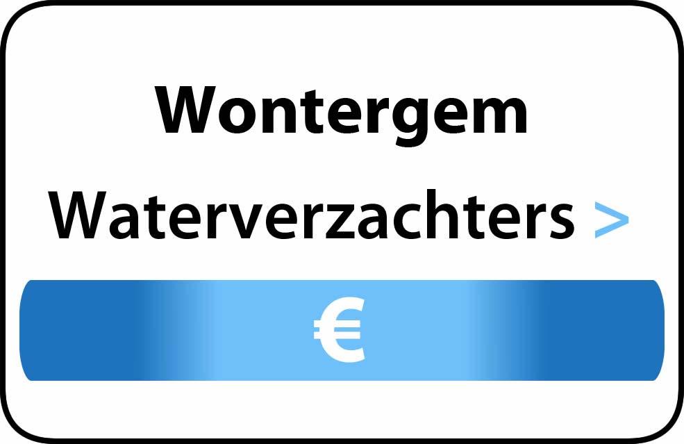 Waterverzachter in de buurt van Wontergem