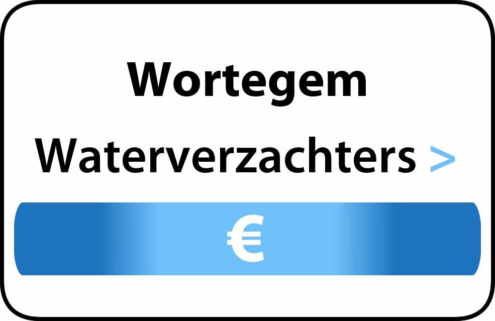Waterverzachter in de buurt van Wortegem