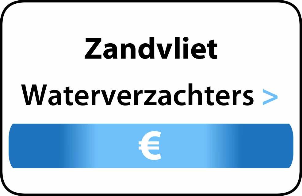 Waterverzachter in de buurt van Zandvliet