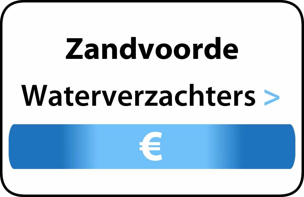 Waterverzachter in de buurt van Zandvoorde