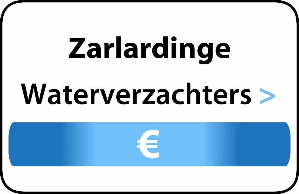 Waterverzachter in de buurt van Zarlardinge