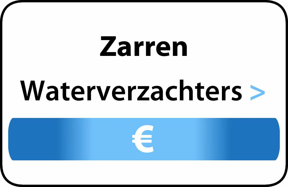 Waterverzachter in de buurt van Zarren