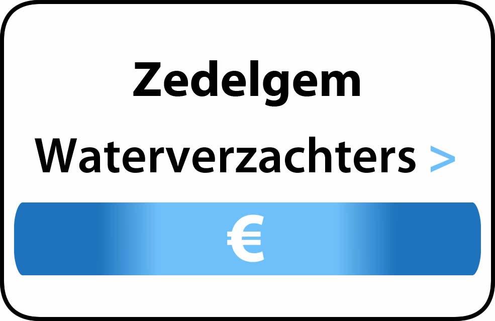 Waterverzachter in de buurt van Zedelgem