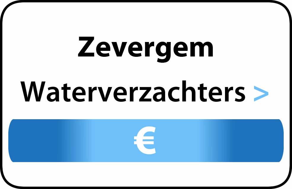 Waterverzachter in de buurt van Zevergem