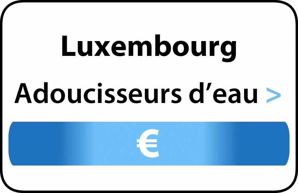 Adoucisseur d'eau luxembourg waterverzachter Luxemburg