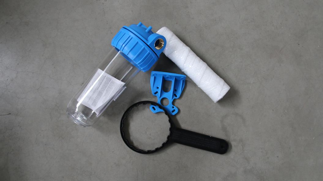 waterfilter voorfilter waterverzachter