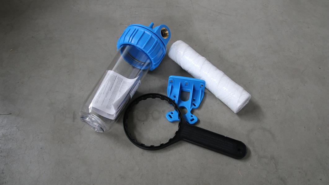 waterfilter: sedimentfilter voor waterverzachter